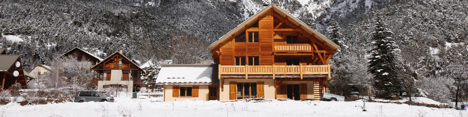 large holiday chalet french alps