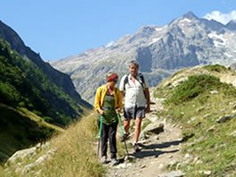walking holidays in the french alps