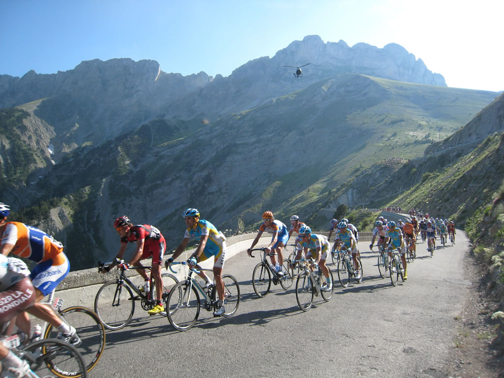 The Tour de France comes to this region every year